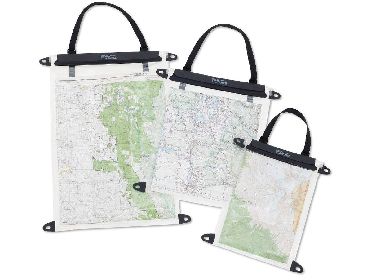 HP Waterproof Map Case, Medium, PVC-Free Medium-30