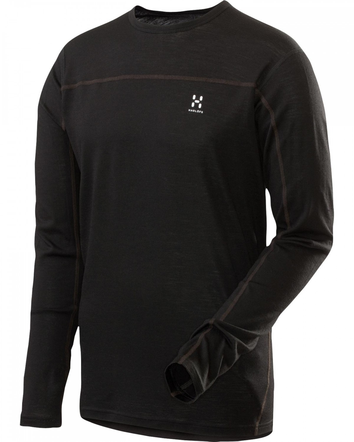Haglofs Actives Merino Zip Top True Black-30
