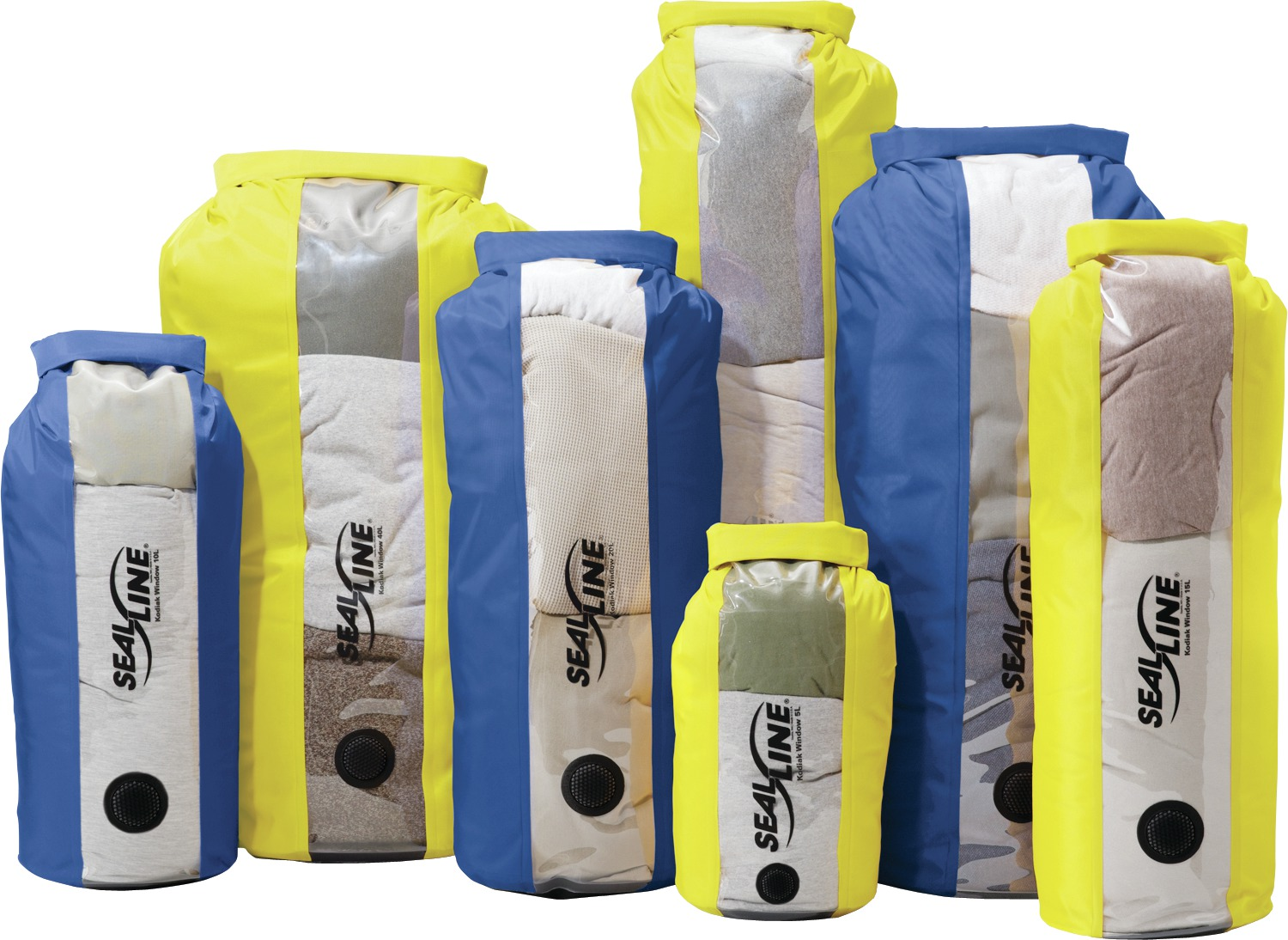 Kodiak Window Dry Sack 10L Yellow-30