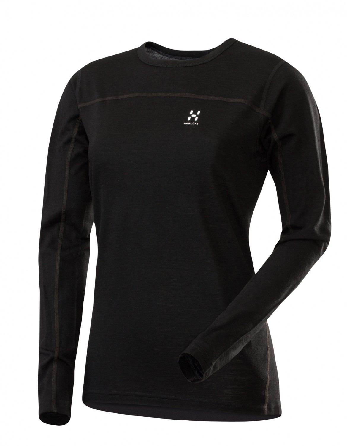 Haglofs Actives Merino Q Zip Top True Black-30