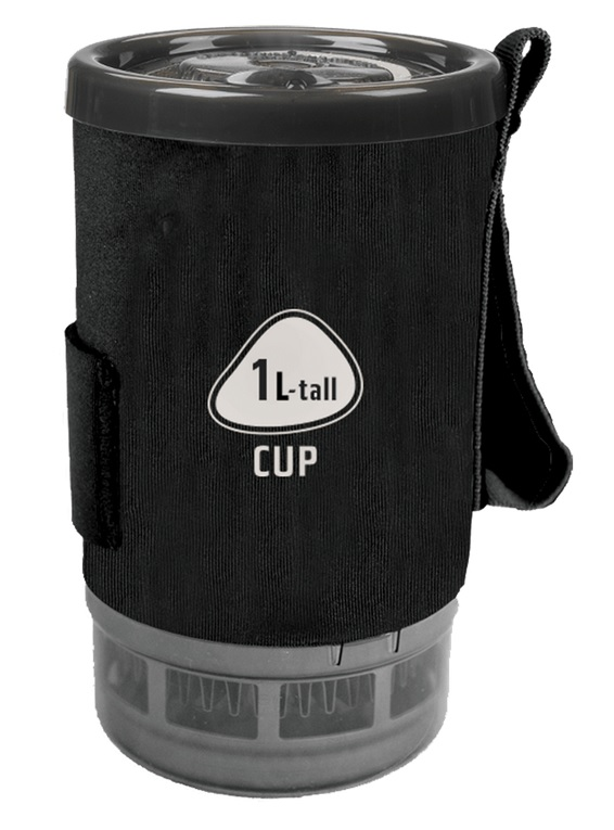 Jetboil 1.0 L FluxRing Tall Spare Cup Carbon-30