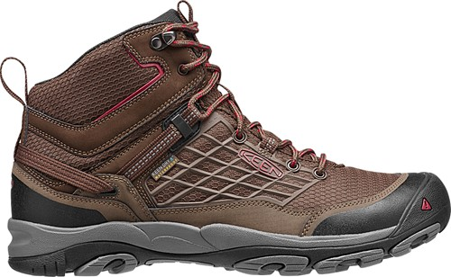 Keen Saltzman WP Mid Cascade Brown/Chili Pepper-30