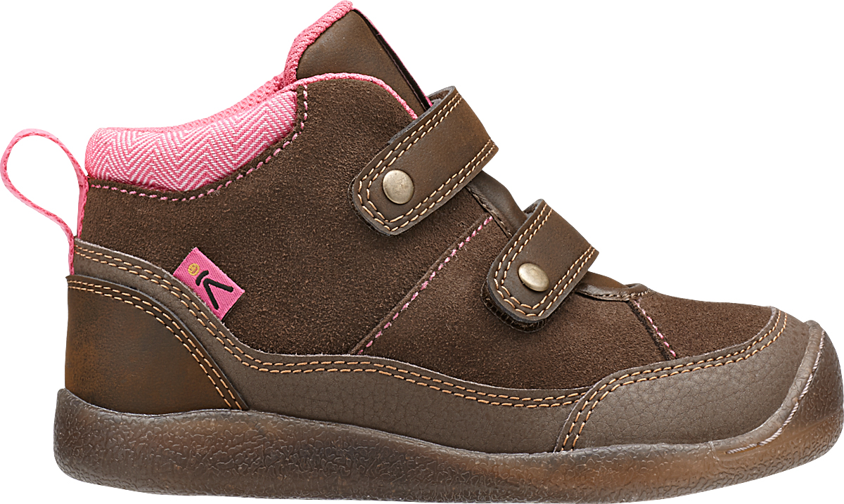 Keen Tris High Top Cascade Brown/Camellia Rose-30