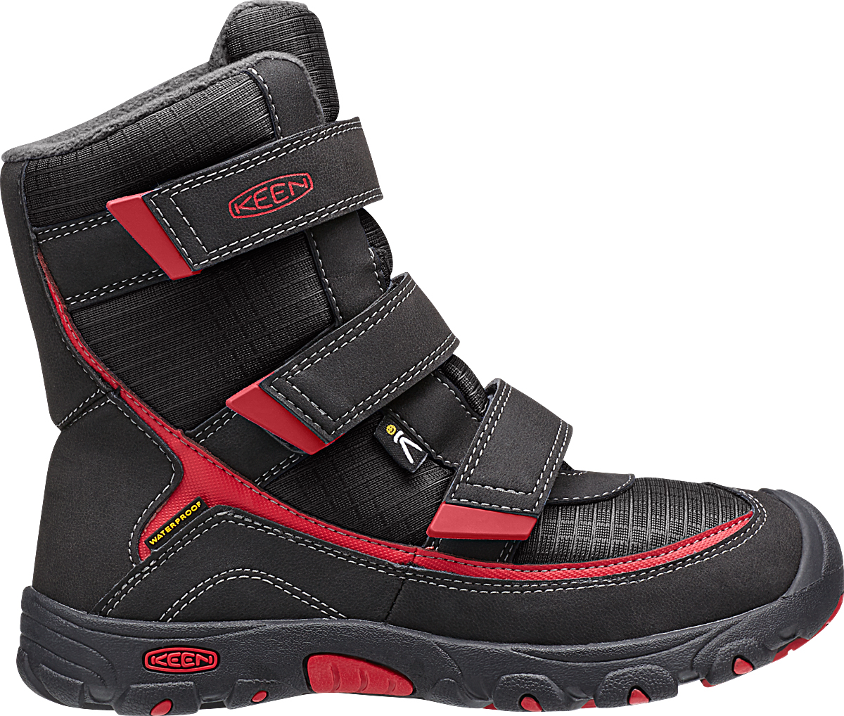 Keen Trezzo II WP Black/Ribbon Red-30