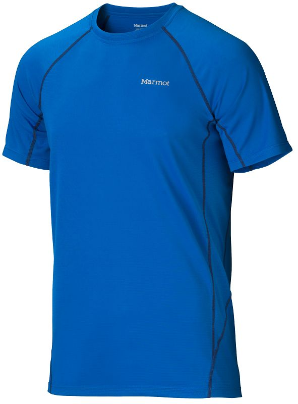Marmot ThermalClime Sport SS Crew Peak Blue-30