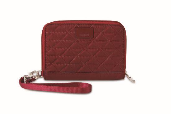 Pacsafe RFIDsafe W150 Cranberry-30