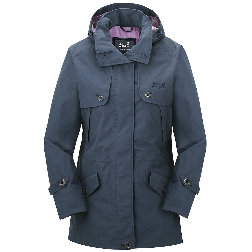 Jack Wolfskin Queenstown Coat Women night blue-30