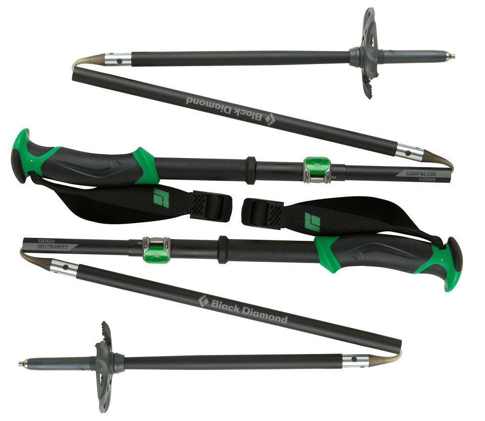 Black Diamond Compactor Ski Poles-30
