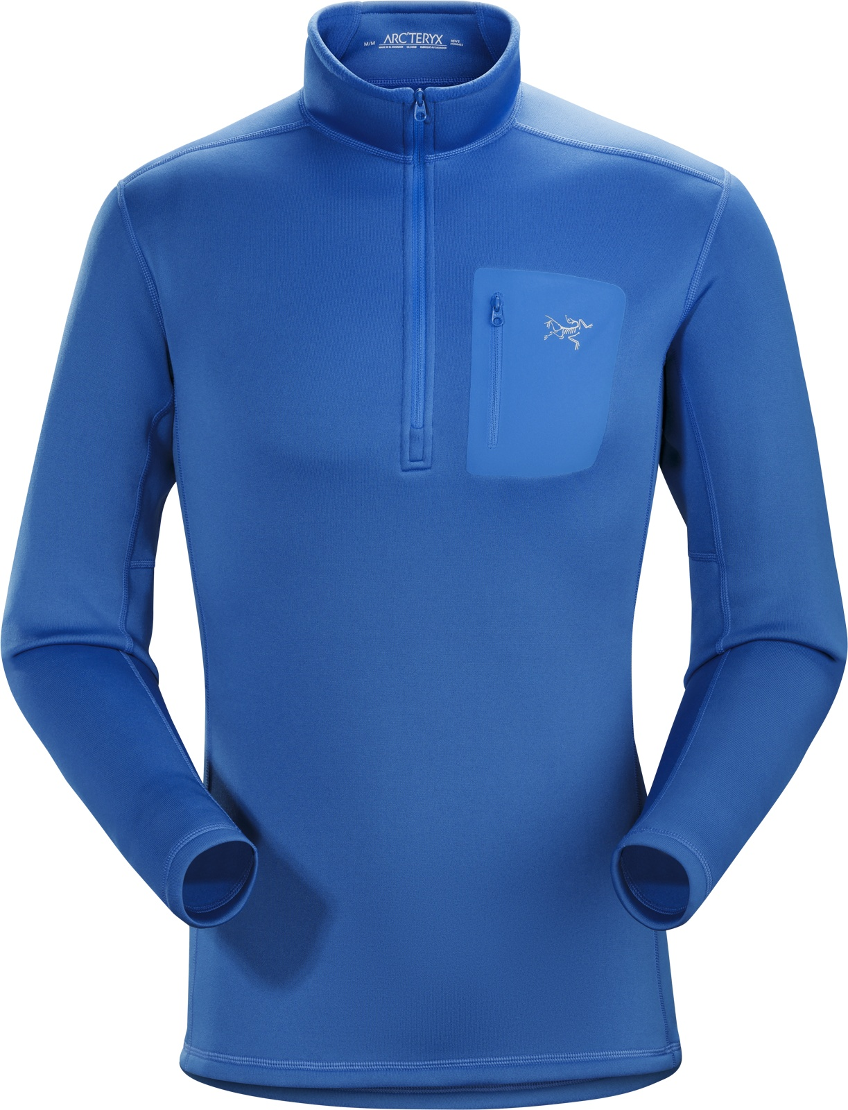 Arcteryx Rho AR Zip Neck Men's Rigel-30