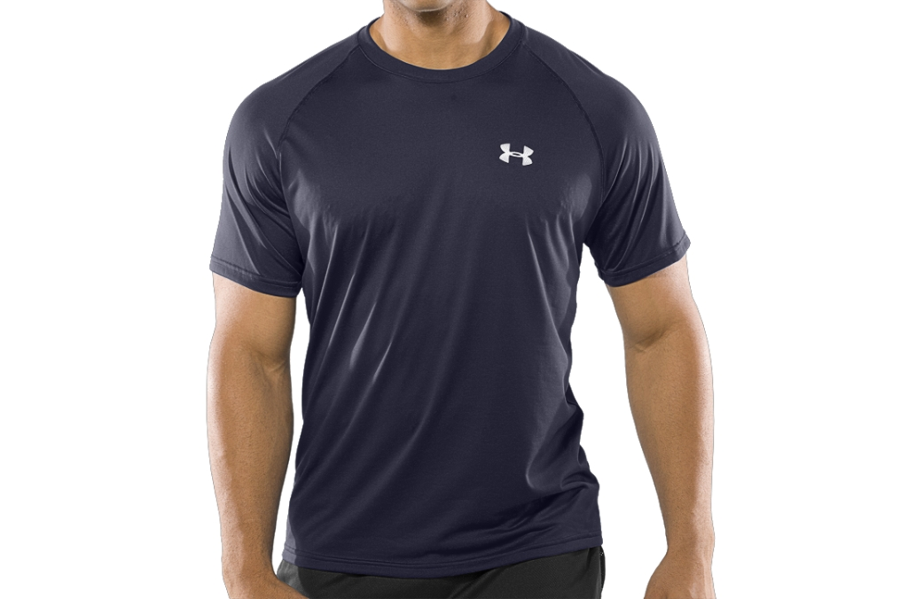Under Armour UA Tech Short Sleeve T-Shirt Midnight Navy/White-30