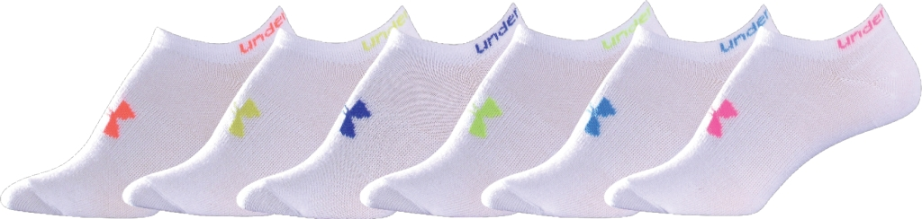 Under Armour Neon Liner 6 Pack White-30