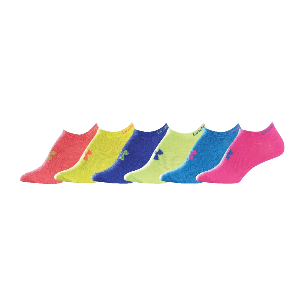 Under Armour Neon Liner 6 Pack NPU/White-30