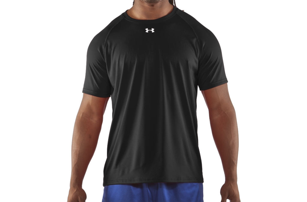 Under Armour UA Locker T-Shirt Black/White-30