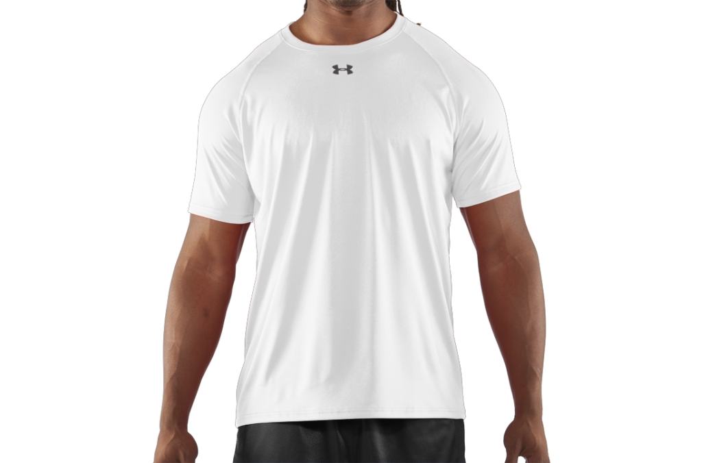Under Armour T-Shirt UA Locker White/Black-30