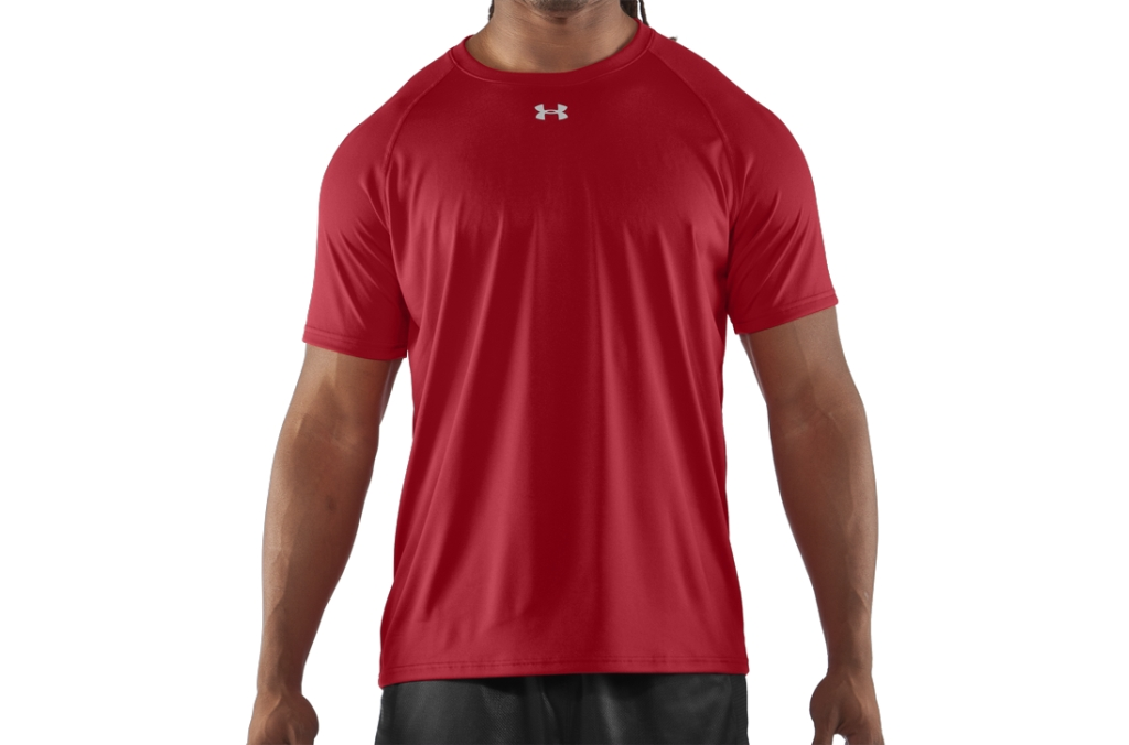 Under Armour T-Shirt UA Locker Red/White-30