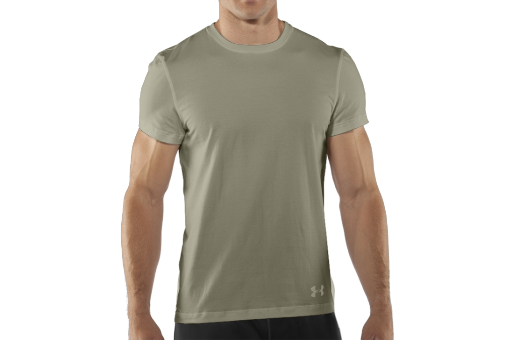 Under Armour UA Tactical Charged Cotton T-Shirt Desert Sand-30
