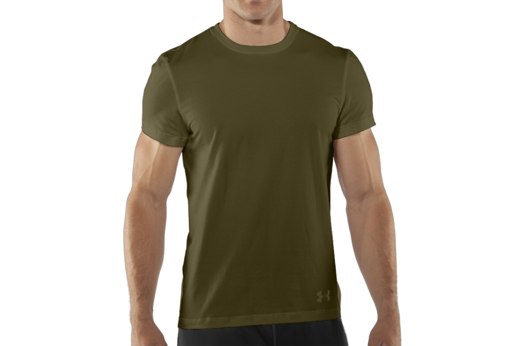Under Armour UA Tactical Charged Cotton T-Shirt Marine OD Green-30