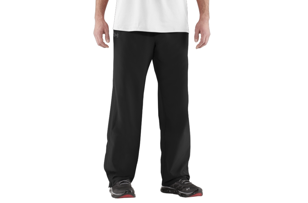 Under Armour Powerhouse Woven Pant Black/Graphite-30