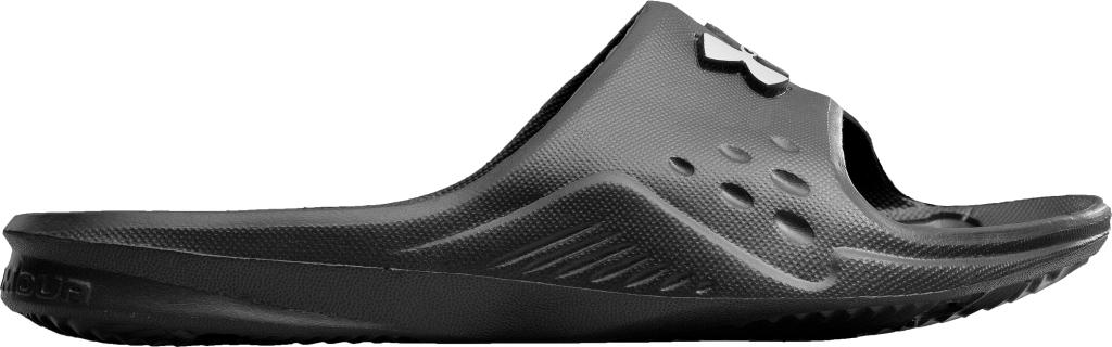 Under Armour - UA Locker Slides – Special Edition Black/Silver - Flip Flops - US 8