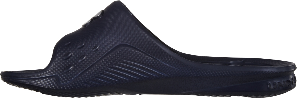 Under Armour UA Locker Slides – Special Edition Midnight Navy/Metallic Silver-30