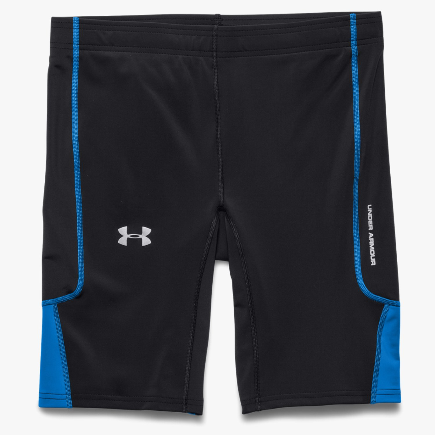 Under Armour UA Run Compression Shorts Black/Blue Jet-30