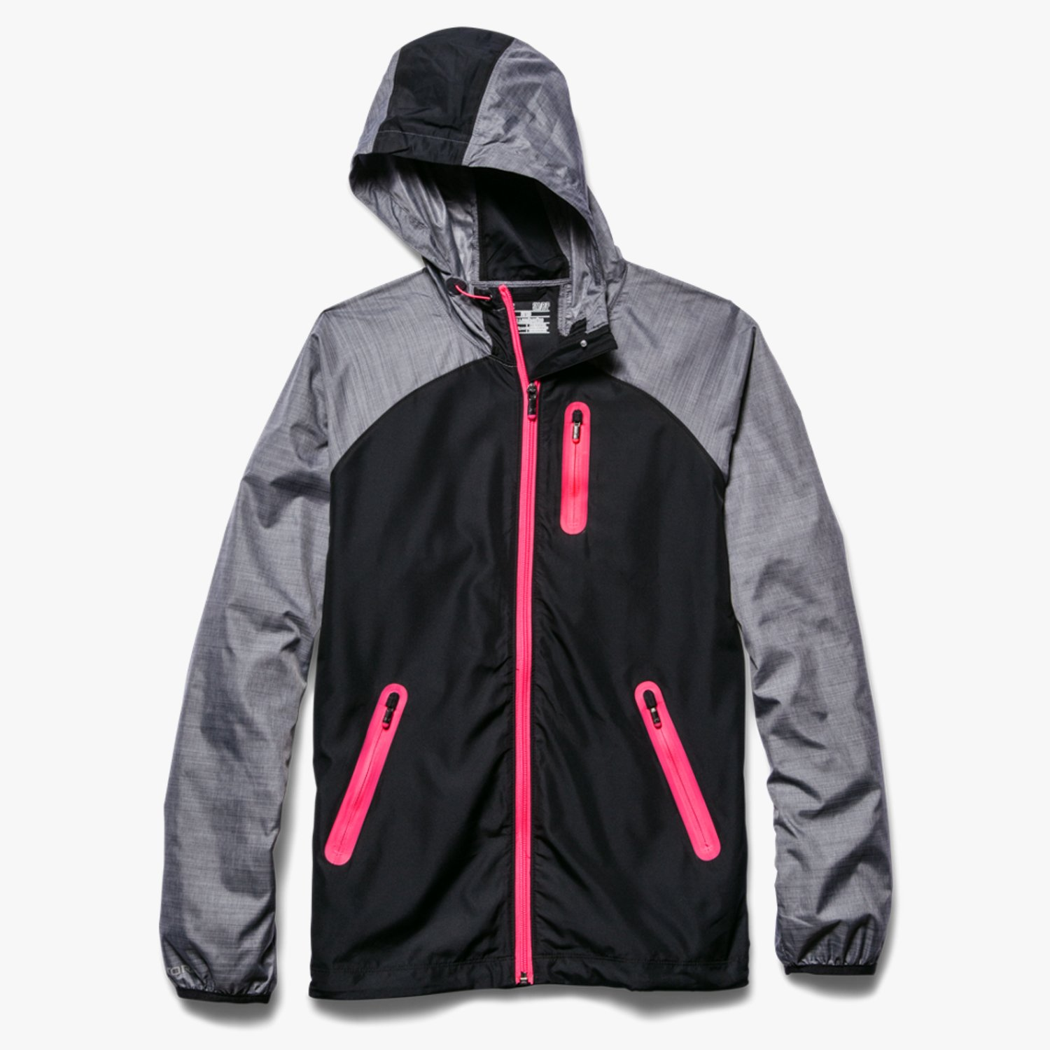 Under Armour WoUA Qualifier Woven Jacket Black/Pink Shock-30