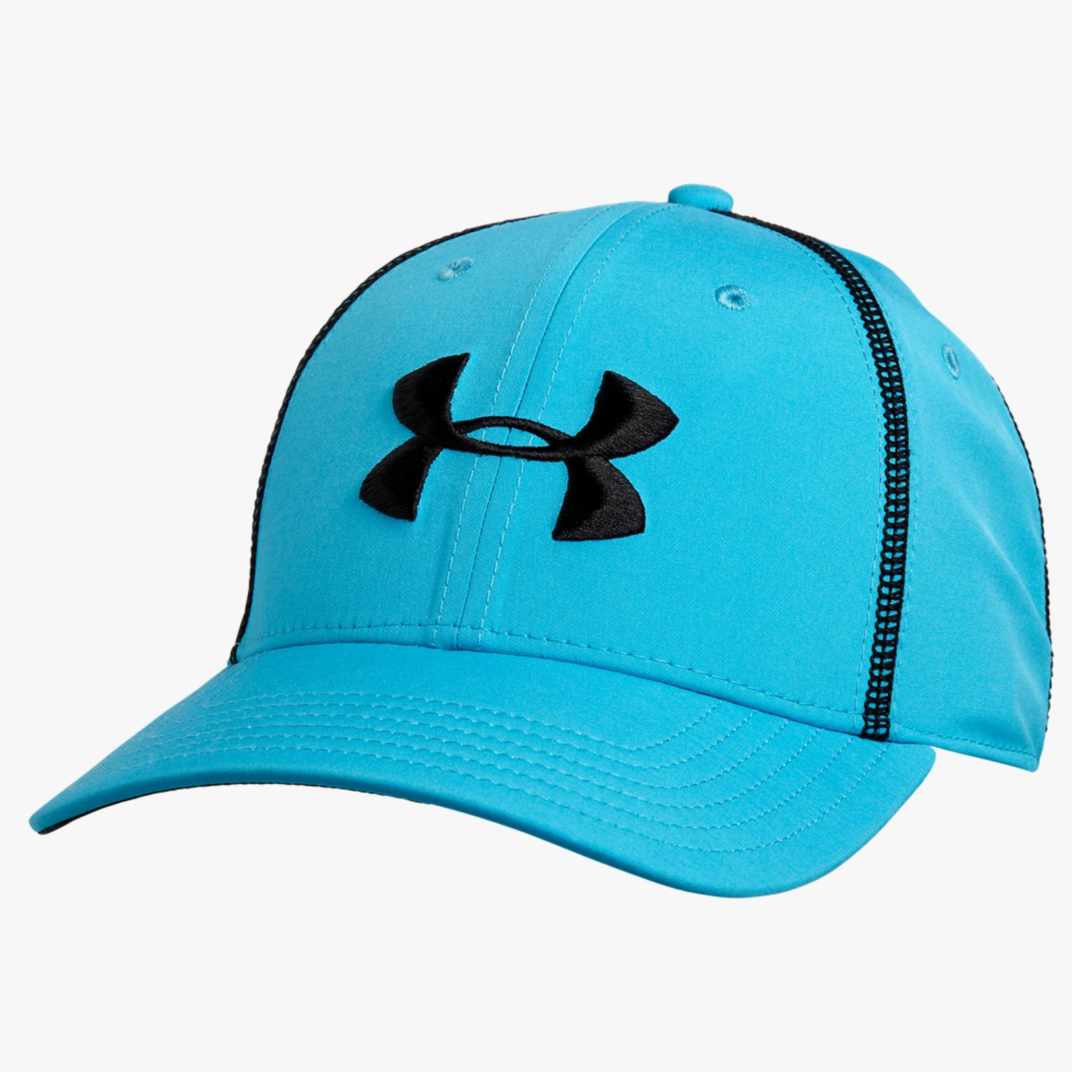 Under Armour UA Huddle Stretch Fit Cap Island Blue/Black-30