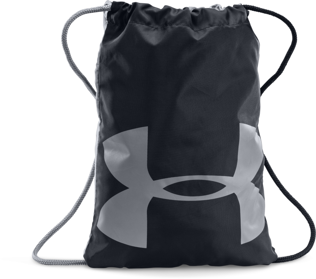 Under Armour UA Ozsee Sackpack Black/Steel/Steel-30