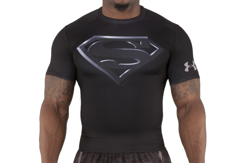 Under Armour Kompressions-Shirt Under Armour Transform Yourself Black/Silver-30