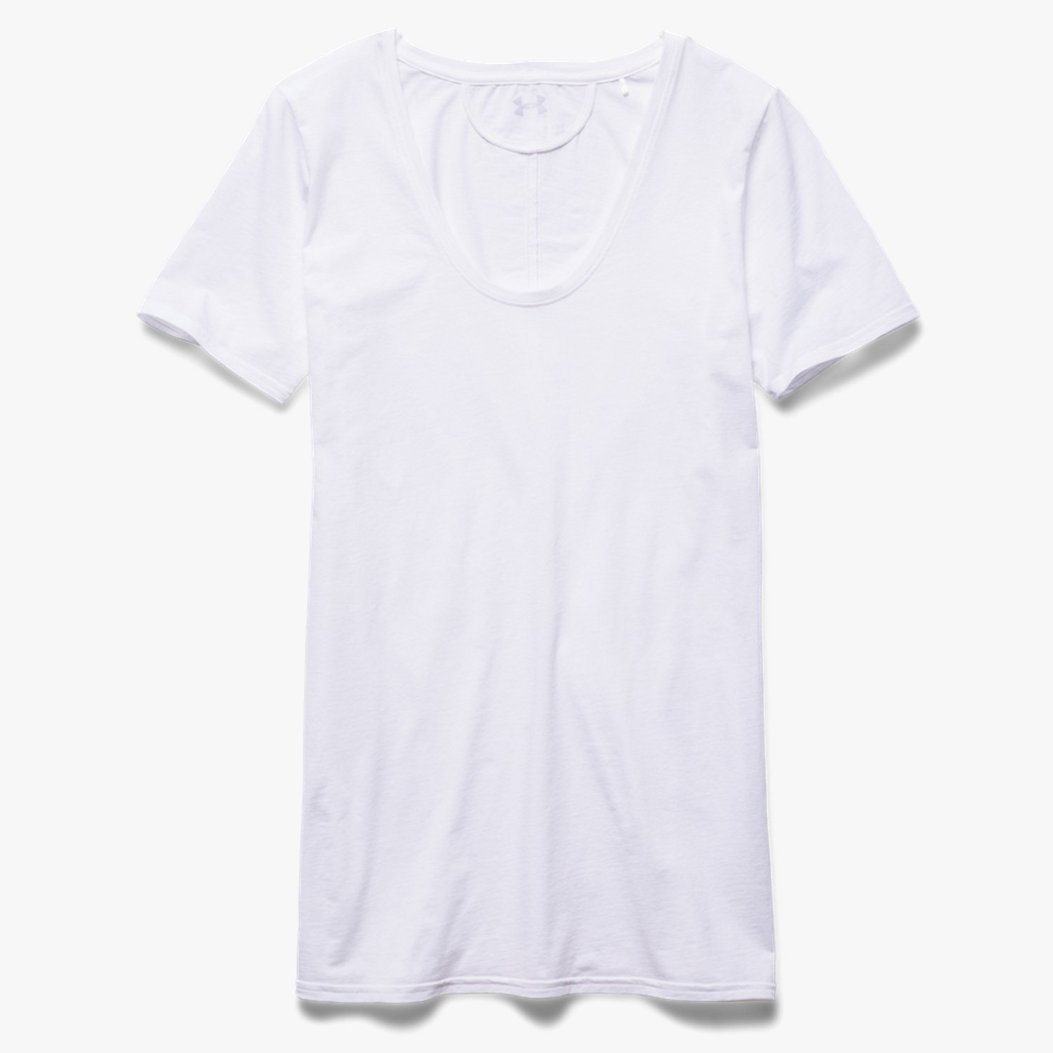 Under Armour UA Long & Lean Scoop Neck White/White-30