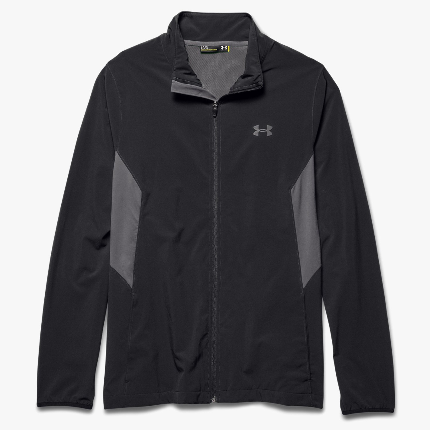 Under Armour UA Pulse Warm-Up Jacket Black/Graphite/Graphite-30