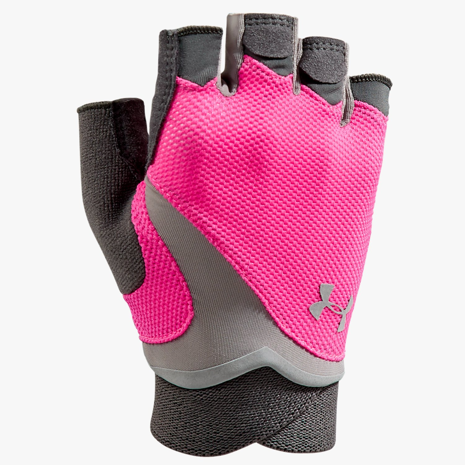 Under Armour UA Flux Gloves Pink Shock/Phantom Gray-30