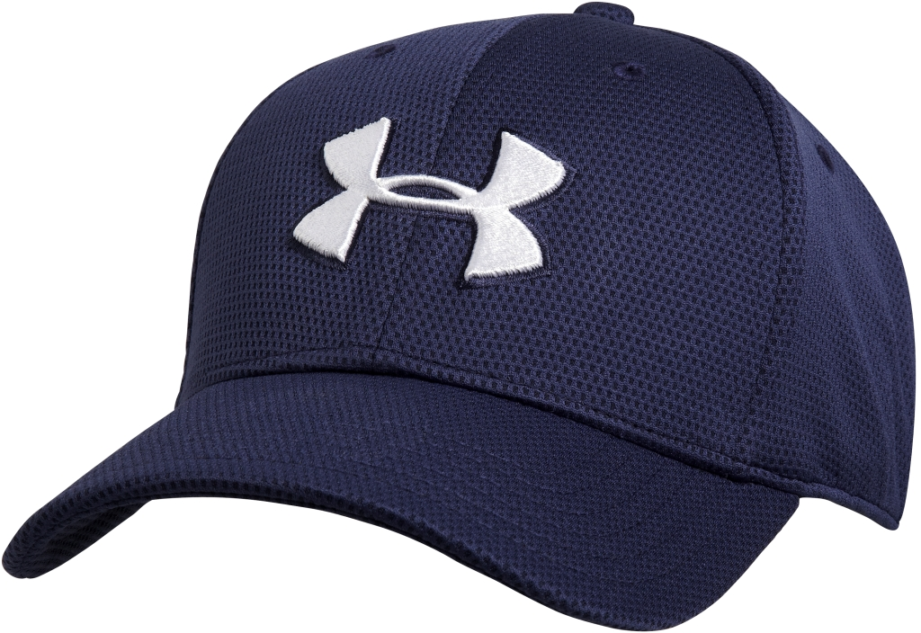 Under Armour Stretchkappe UA Blitzing II Midnight Navy/White-30