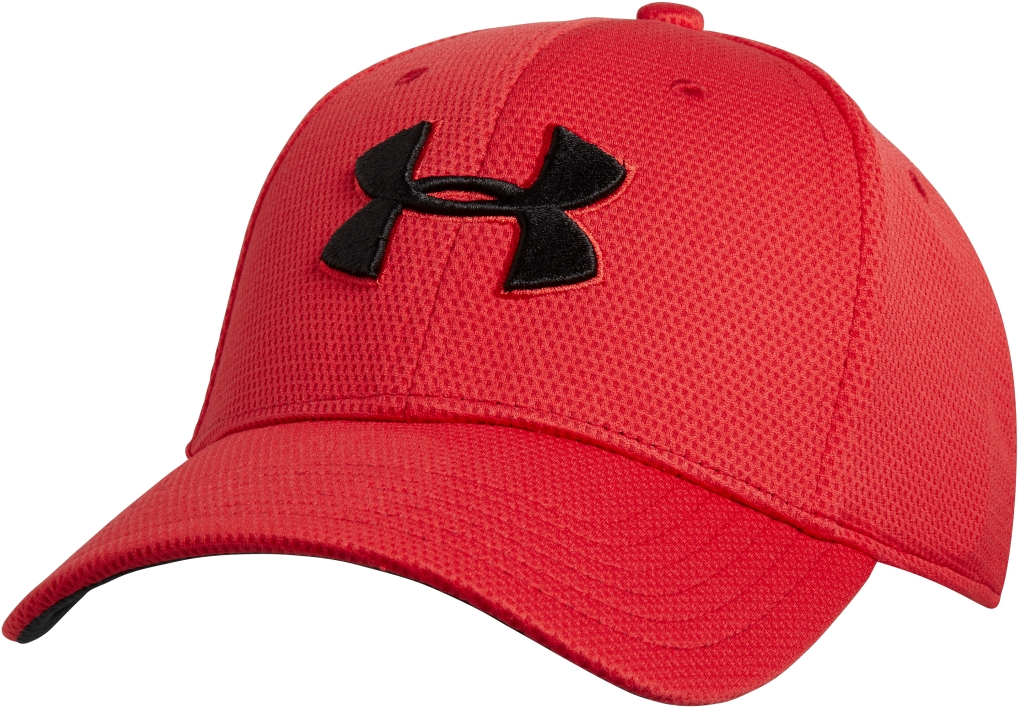Under Armour UA Blitzing II Stretch Fit Cap Red/Black-30