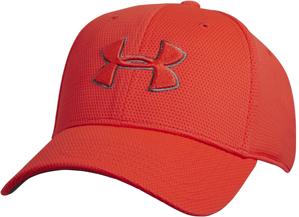 Under Armour UA Blitzing II Stretch Fit Cap Bolt Orange/Graphite/Bolt Orange-30