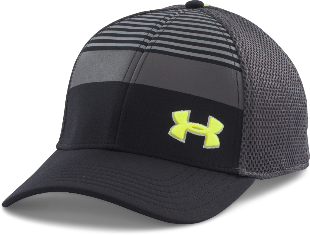 Under Armour Eagle Cap 2.0 Black/Steel/High-Vis Yellow-30