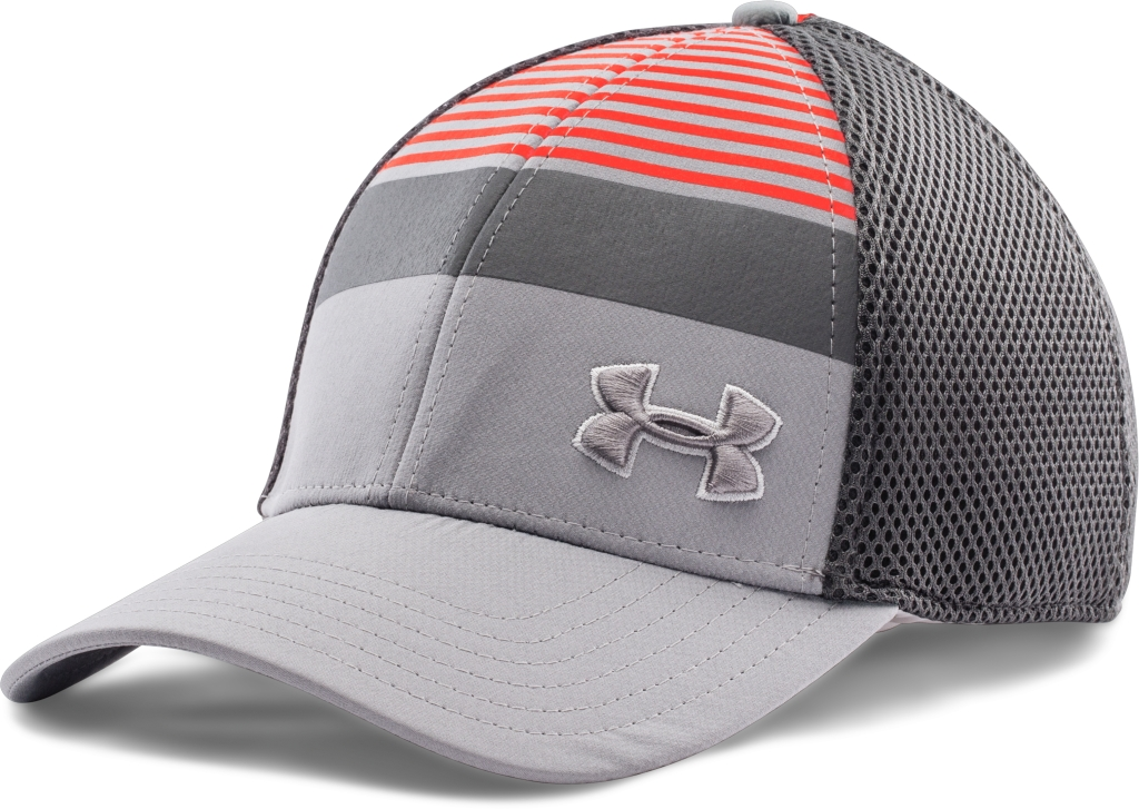 Under Armour Eagle Cap 2.0 Steel/Bolt Orange/Graphite-30