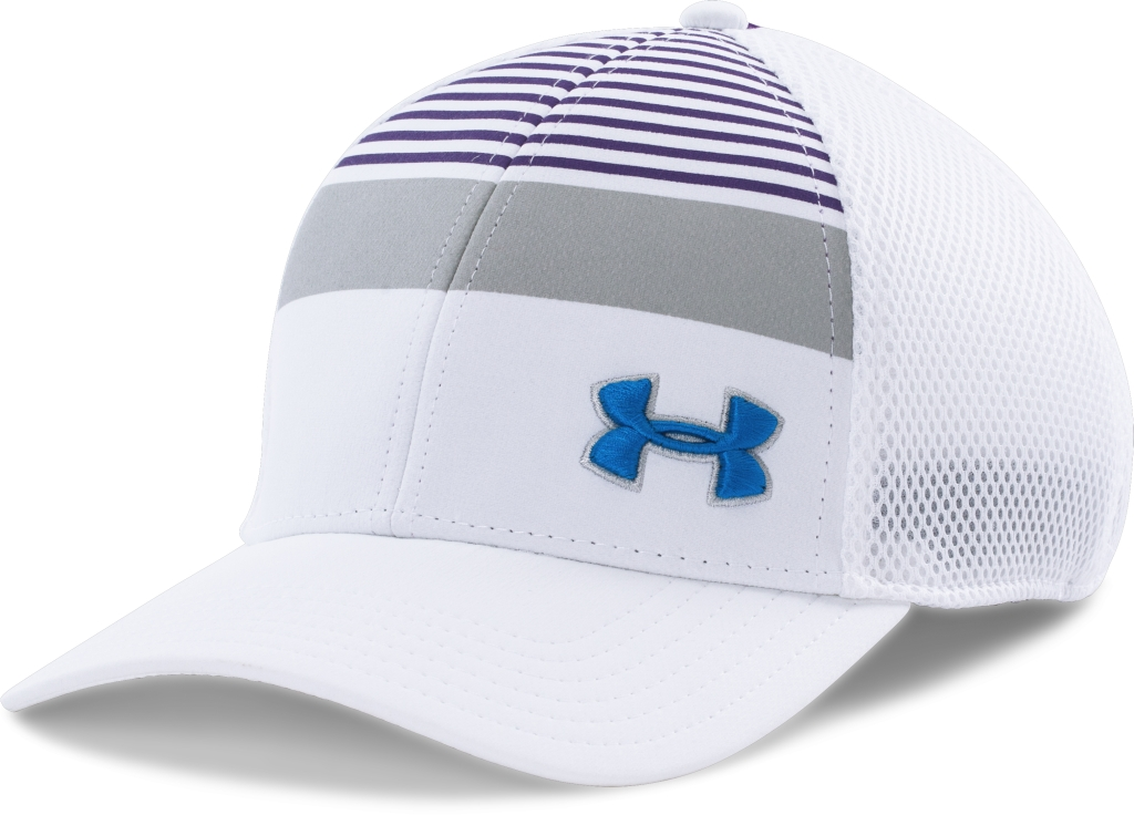 Under Armour Eagle Cap 2.0 White/Galaxy Purple/Blue Jet-30