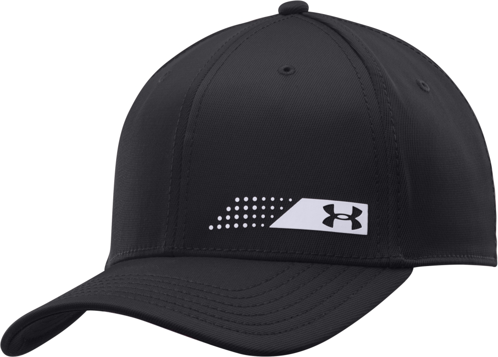 Under Armour UA Fairway Low Crown Stretch Fit Cap Black/White/White-30