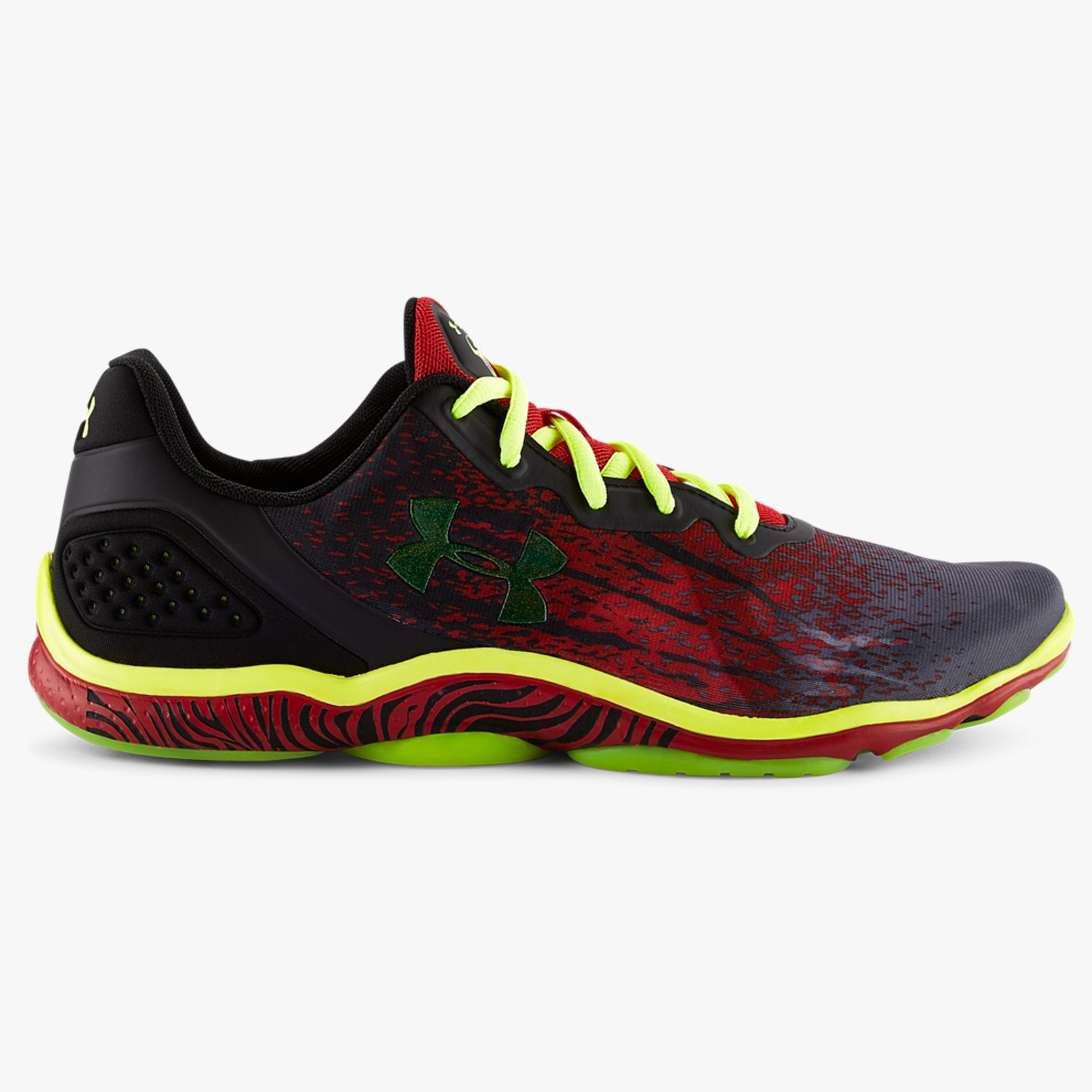 Under Armour UA Micro G Sting Training Shoes Red/Black-30