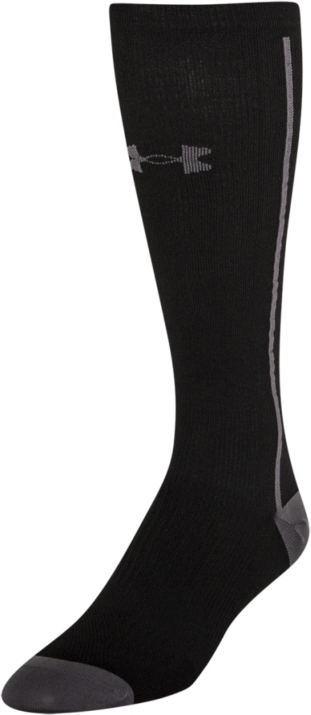 Under Armour UA Circulare Compression OTC Socks Black/Graphite-30