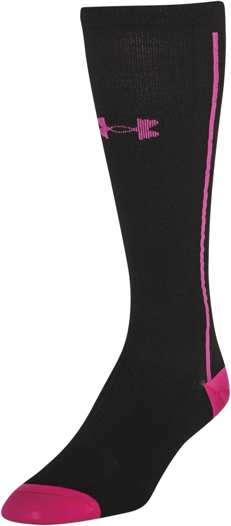Under Armour UA Circulare Compression OTC Socks Black-30