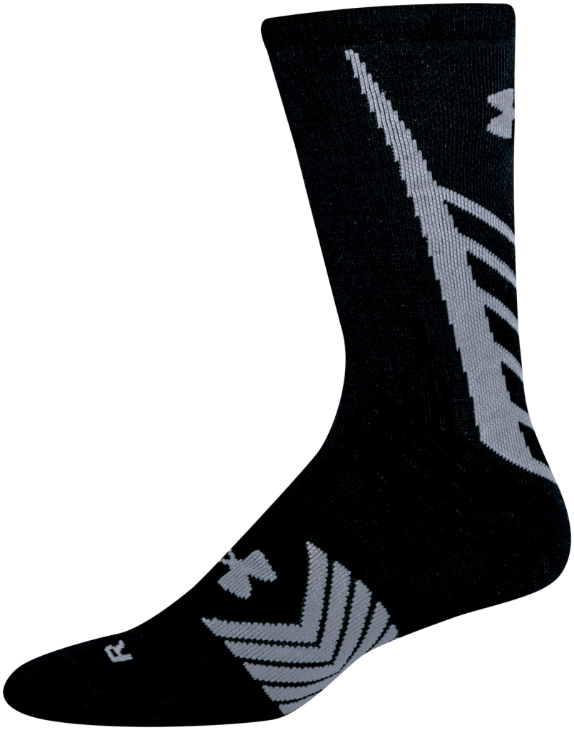 Under Armour UA Undeniable Crew Socks Black/Steel-30