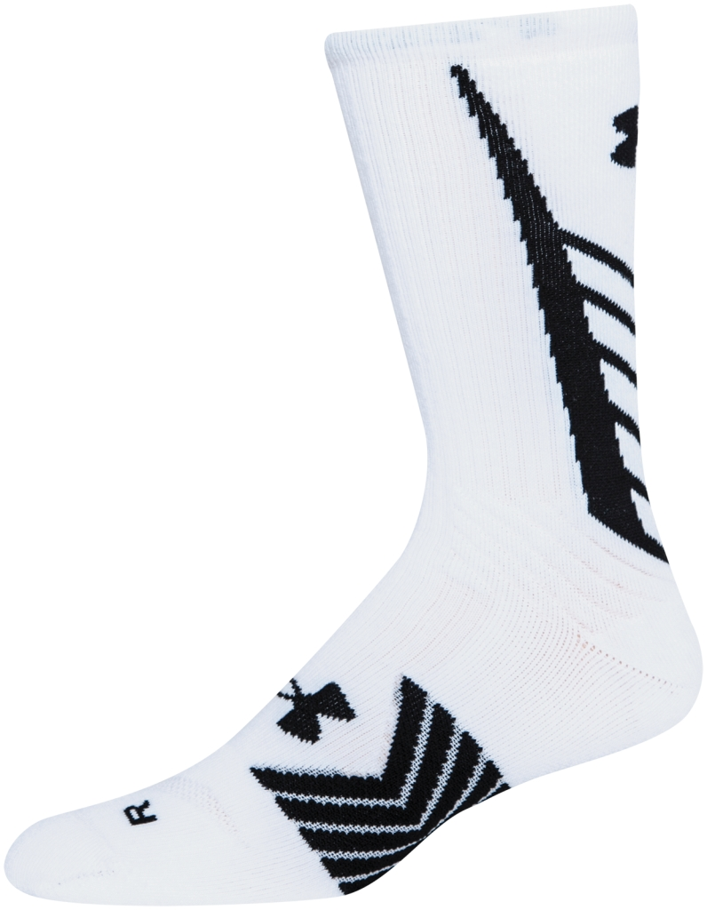 Under Armour Socken UA Undeniable Crew White/Black-30