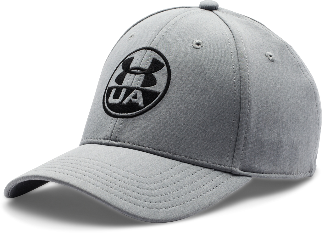 Under Armour UA Chambray Stretch Fit Cap Steel/Steel/Black-30