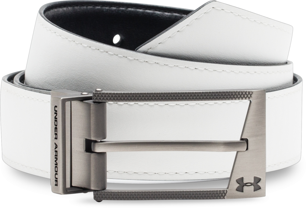 Under Armour Reversible Belt Black/White/Steel-30