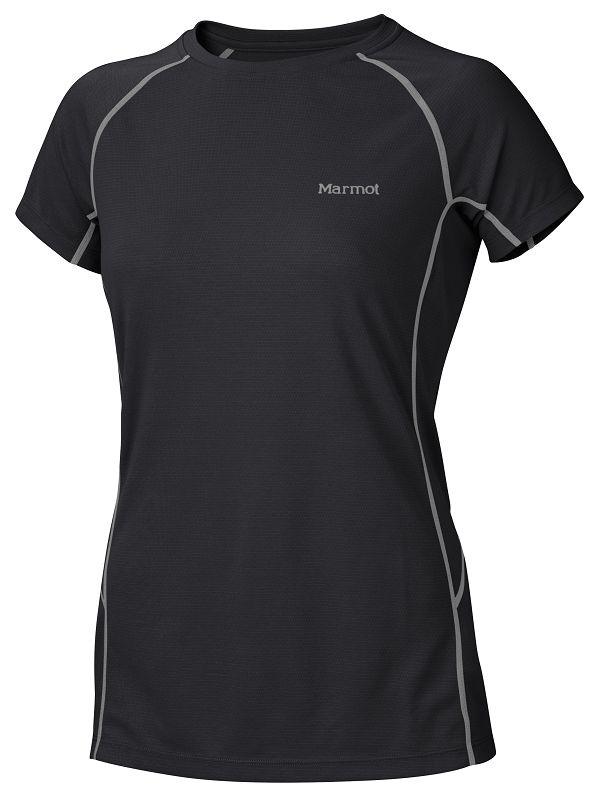 Marmot Wms ThermalClime Sport SS Crew Black-30