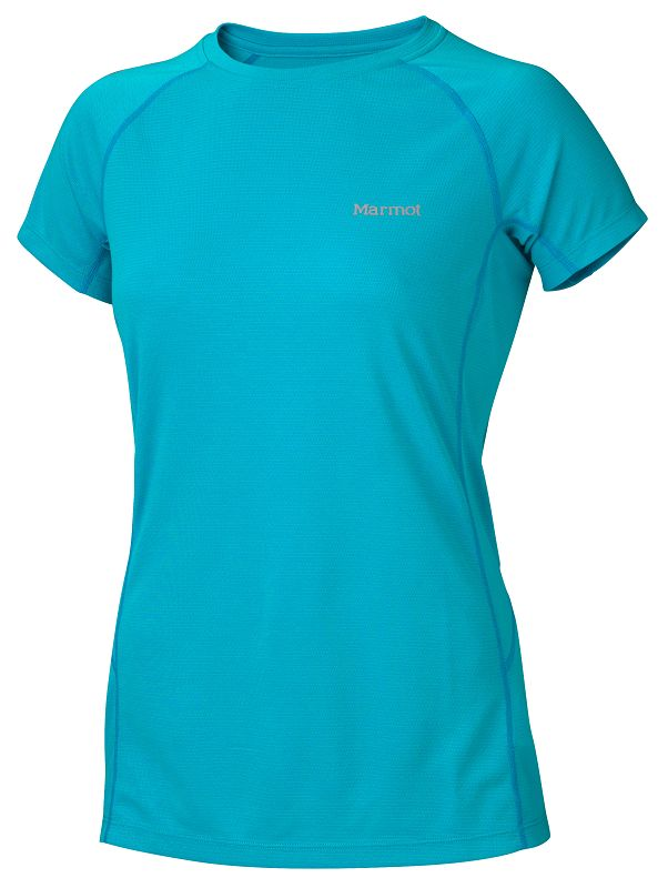 Marmot Wms ThermalClime Sport SS Crew Sea Breeze-30