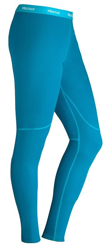 Marmot Wm's ThermalClime Sport Tight Aqua Blue-30
