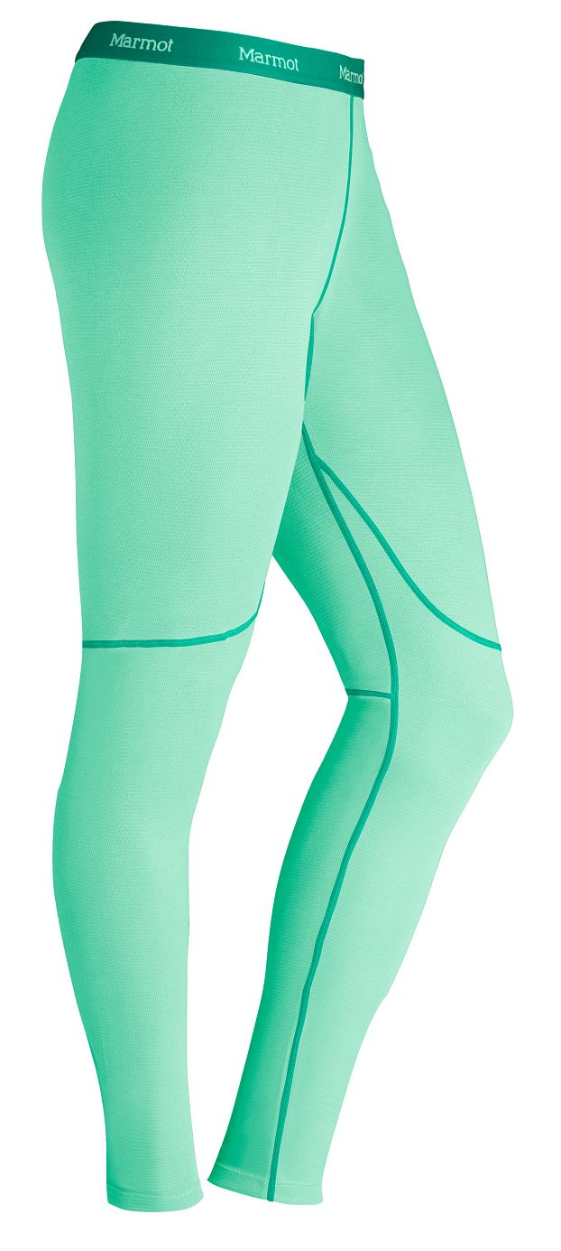 Marmot Wm's ThermalClime Sport Tight Green Frost-30
